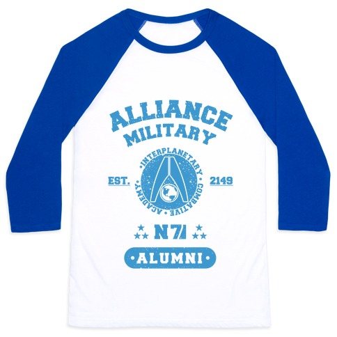 Alliance Military Alumni Baseball Tee