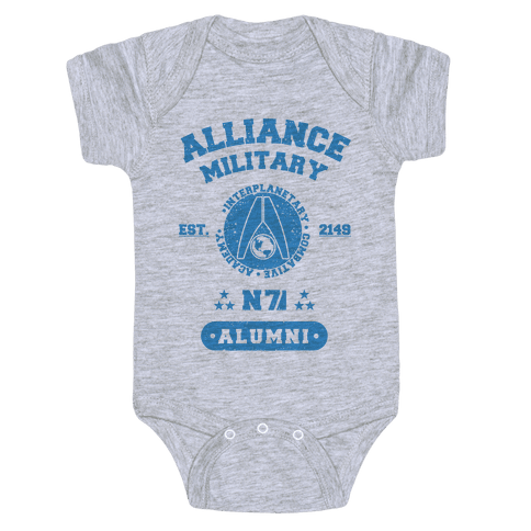 Alliance Military Alumni Baby Onesy