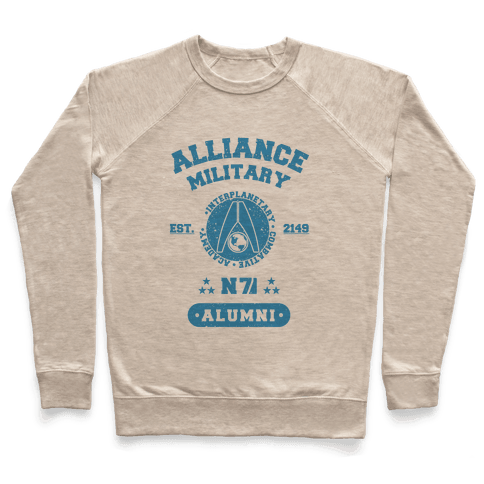 Alliance Military Alumni Pullover