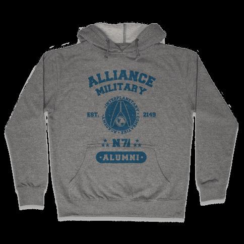 Alliance Military Alumni Hooded Sweatshirt