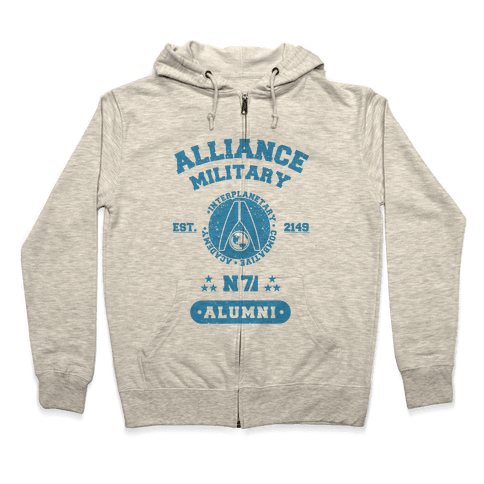 Alliance Military Alumni Zip Hoodie