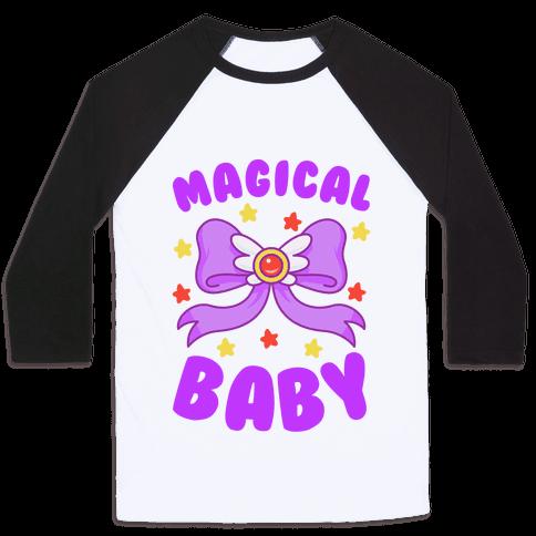 Magical Baby (Purple) Baseball Tee