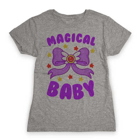 Magical Baby (Purple) Womens T-Shirt