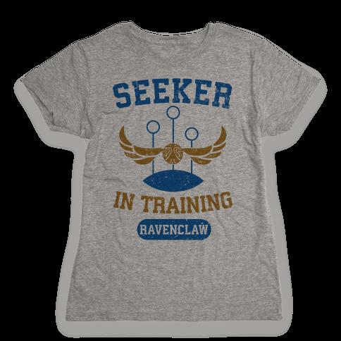 Seeker In Training (Ravenclaw) Womens T-Shirt