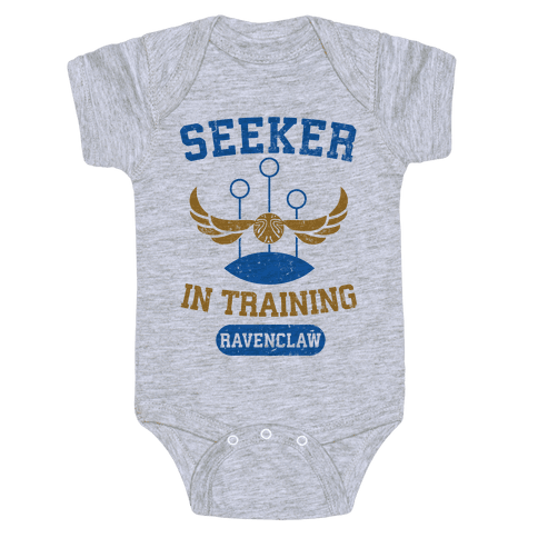 Seeker In Training (Ravenclaw) Baby Onesy