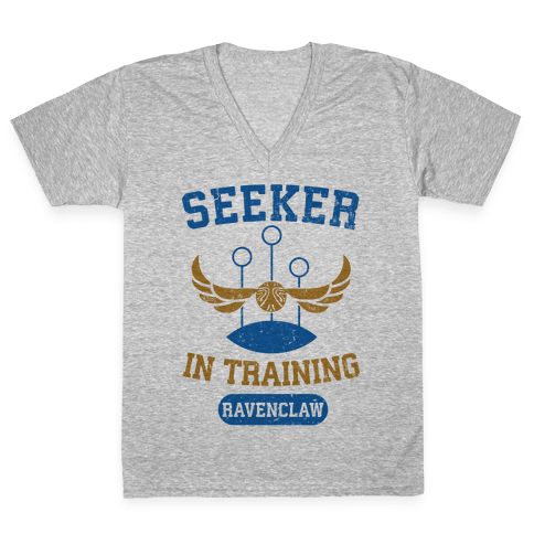 Seeker In Training (Ravenclaw) V-Neck Tee Shirt