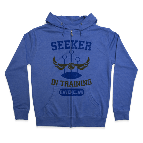 Seeker In Training (Ravenclaw) Zip Hoodie
