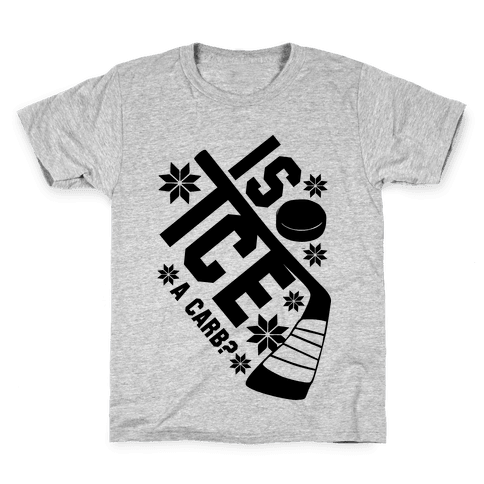 Is Ice A Carb? Kids T-Shirt