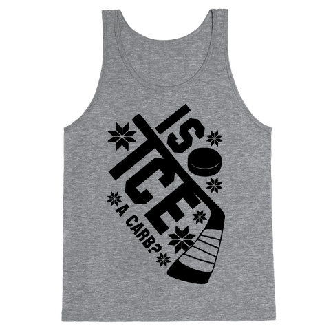 Is Ice A Carb? Tank Top