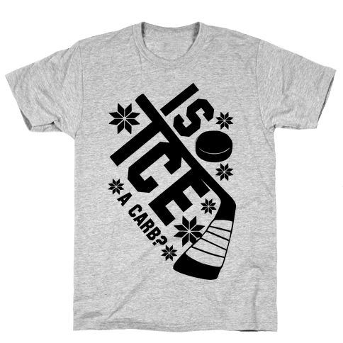 Is Ice A Carb? Mens T-Shirt