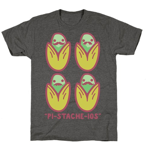 Pistachios with Mustaches T-Shirt