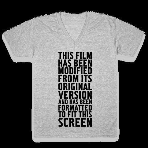 Modified V-Neck Tee Shirt