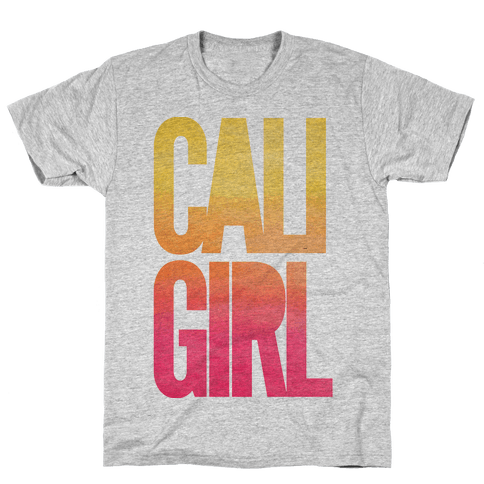 Cali Girl Mens T-Shirt