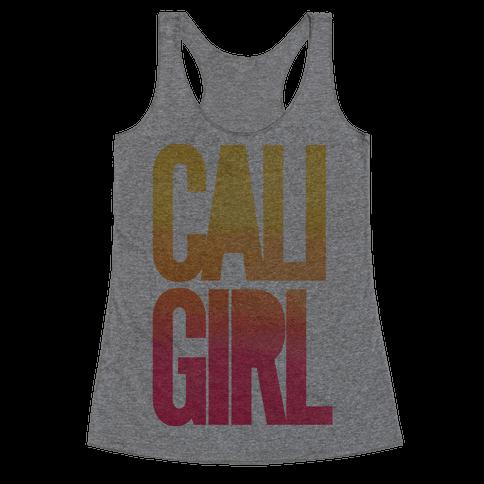 Cali Girl Racerback Tank Top