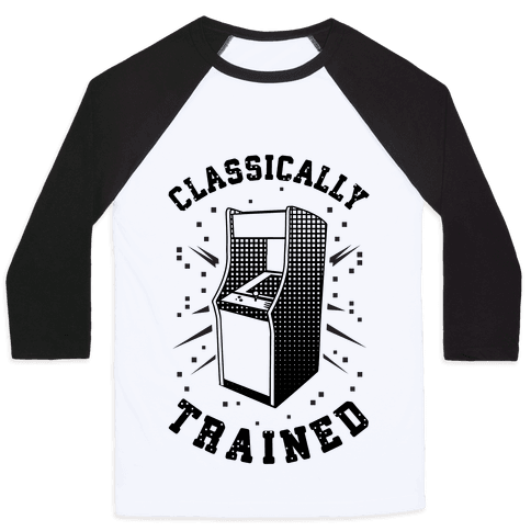 Classically Trained Baseball Tee