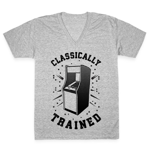 Classically Trained V-Neck Tee Shirt