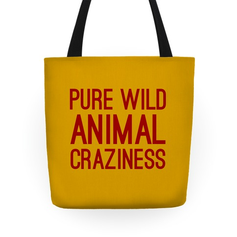 Pure Wild Animal Craziness Tote