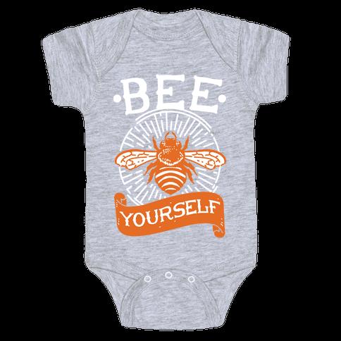 Bee Yourself Baby Onesy