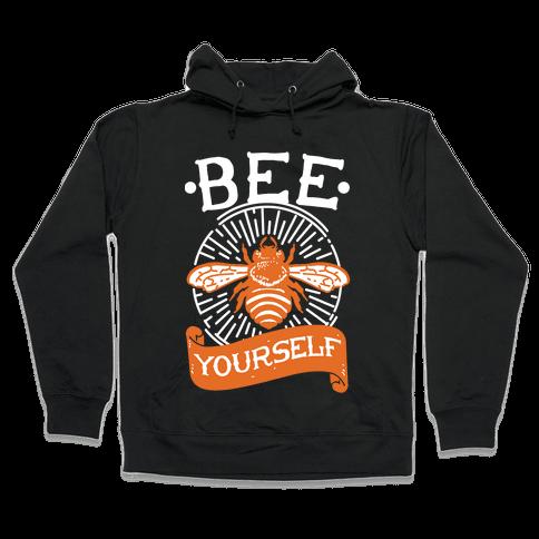 Bee Yourself Hooded Sweatshirt