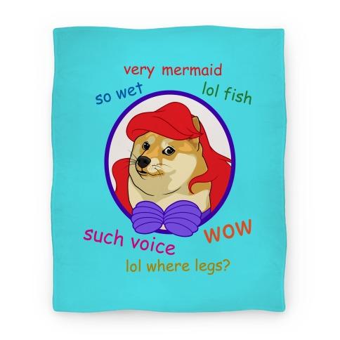The Little Dogemaid Blanket Blanket
