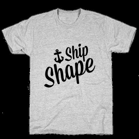 Ship Shape Mens T-Shirt