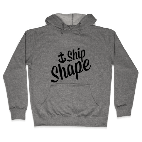 Ship Shape Hooded Sweatshirt