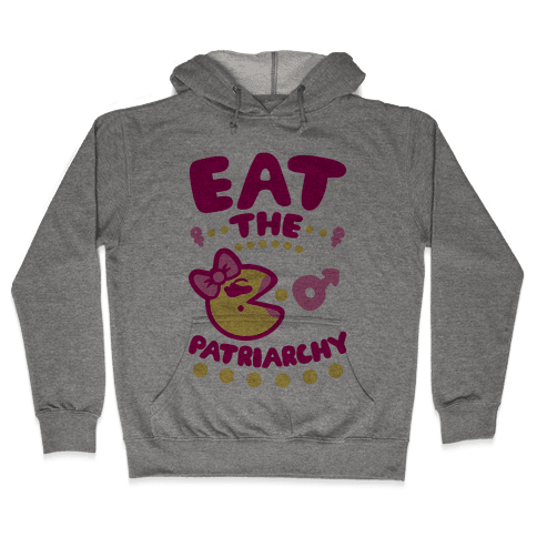 Eat The Patriarchy Hooded Sweatshirt