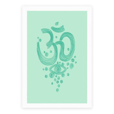 Om And Eye Poster