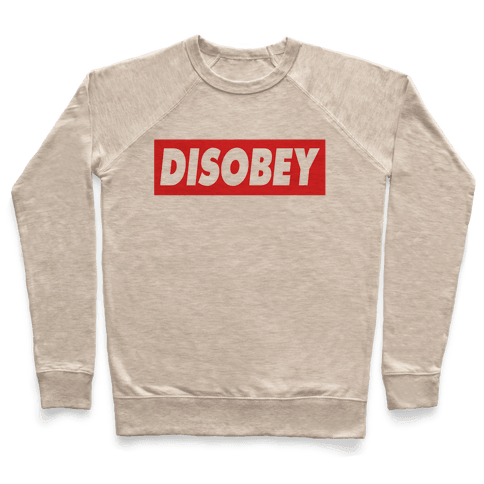 Disobey Pullover