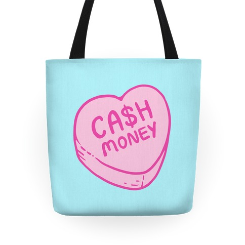 Cash Money Candy Heart Tote