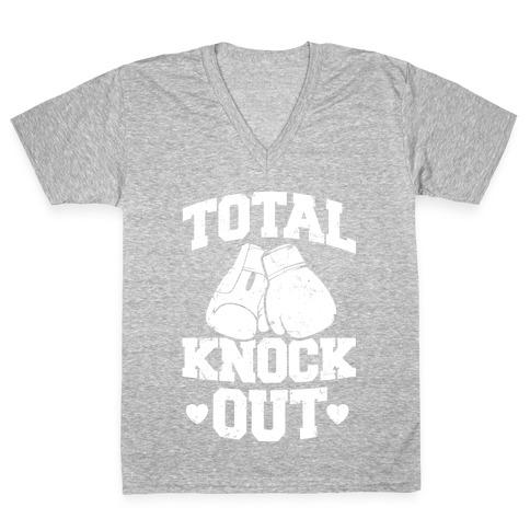 Total Knockout V-Neck Tee Shirt