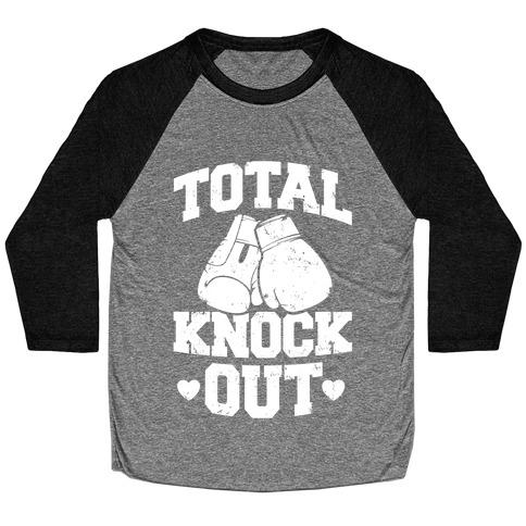 Total Knockout Baseball Tee