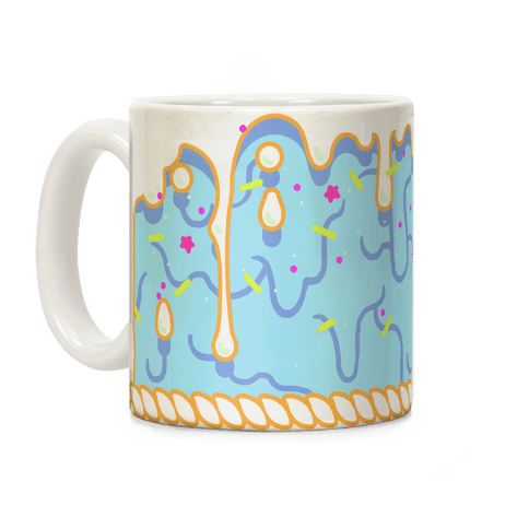 Blue Cupcake Icing Coffee Mug