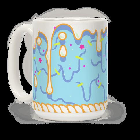 Blue Cupcake Icing
