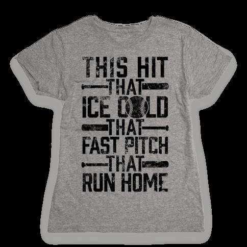 Uptown Softball Womens T-Shirt