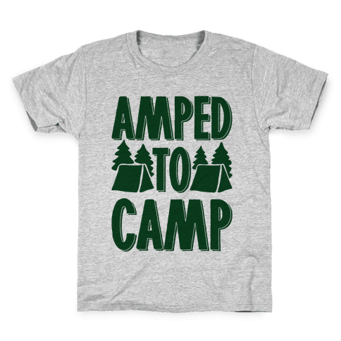 Amped To Camp Kids T-Shirt