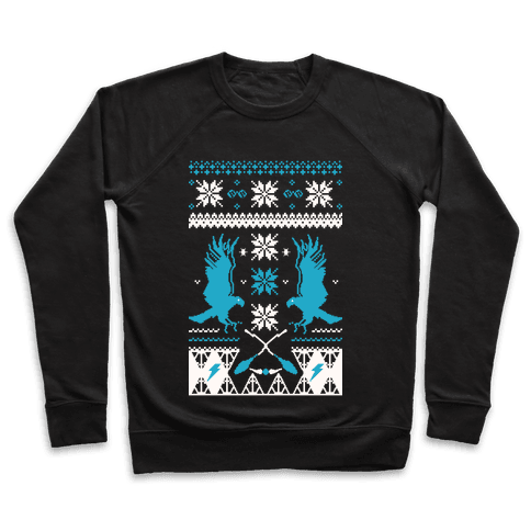 Hogwarts Ugly Christmas Sweater: Ravenclaw Pullover