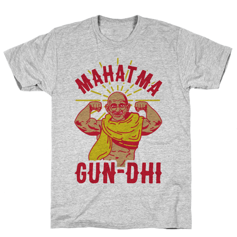 Mahatma Gun-dhi Mens T-Shirt