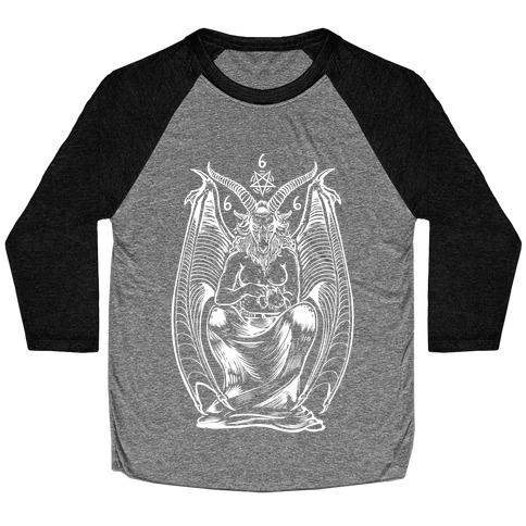 Pet Cats. Hail Satan. Baseball Tee