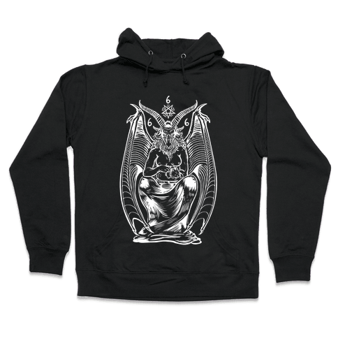 Pet Cats. Hail Satan. Hooded Sweatshirt