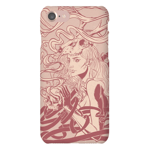 Skull Witch Phone Case