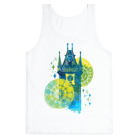 Prague Astronomical Clock Tank Top