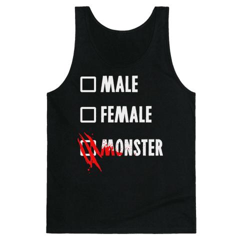 Male Female Monster Tank Top