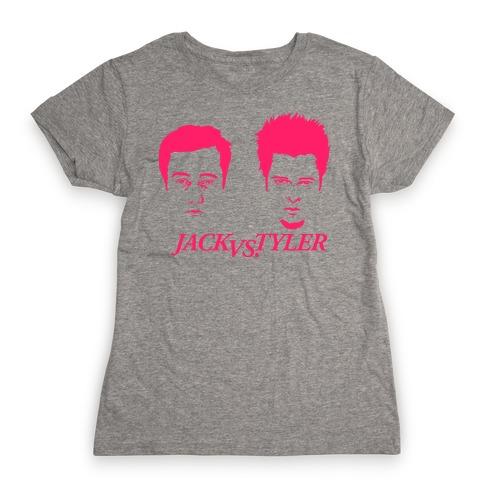Jack Vs Tyler Womens T-Shirt