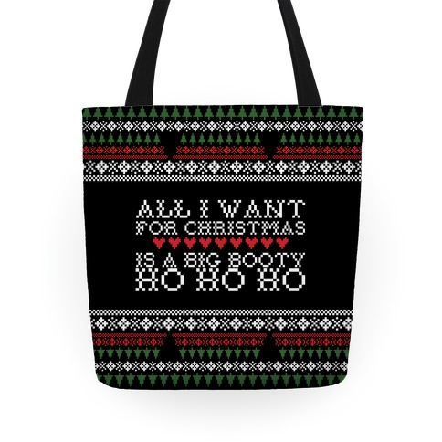 All I Want For Christmas Tote