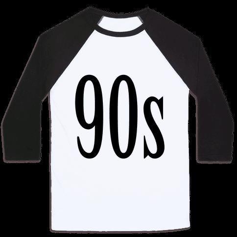 90's Baseball Tee