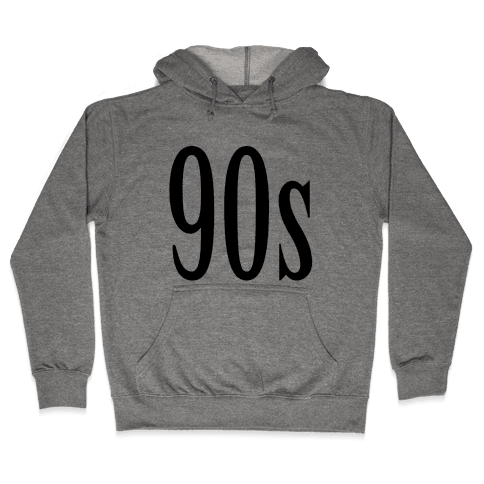 90's Hooded Sweatshirt