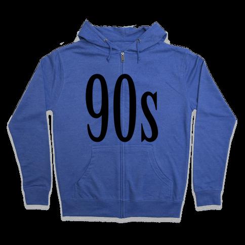 90's Zip Hoodie