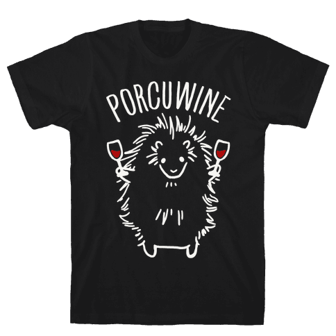 Porcuwine Mens T-Shirt
