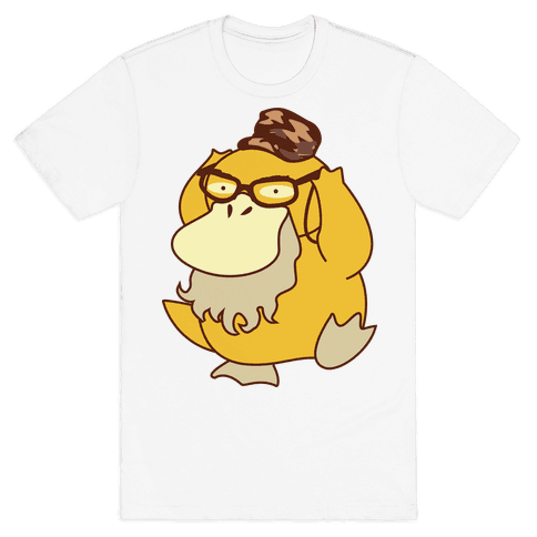 Si Duck (textless) Mens T-Shirt